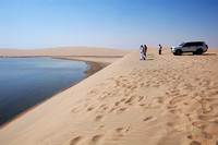 Inland Sea trip - Dune Bashing, Qatar